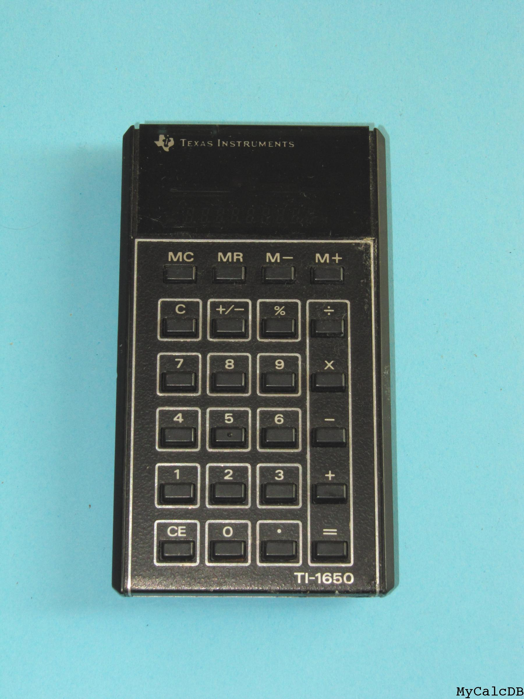Texas Instruments TI-1650