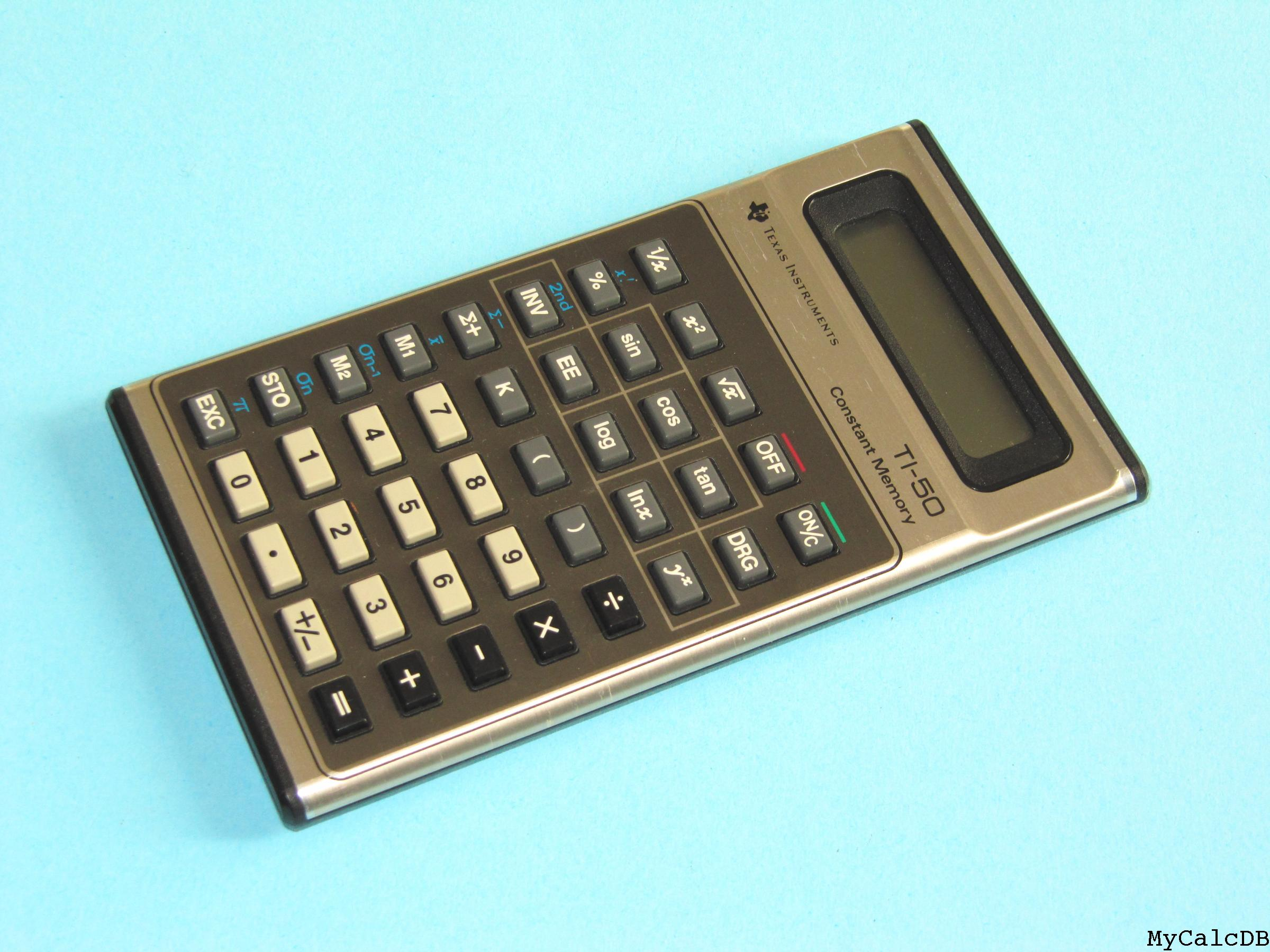 Texas Instruments TI-50
