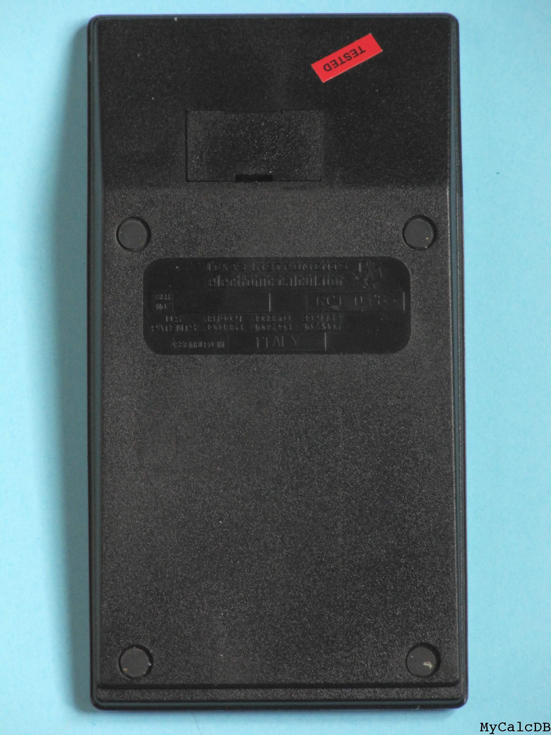 Texas Instruments TI-57 LCD