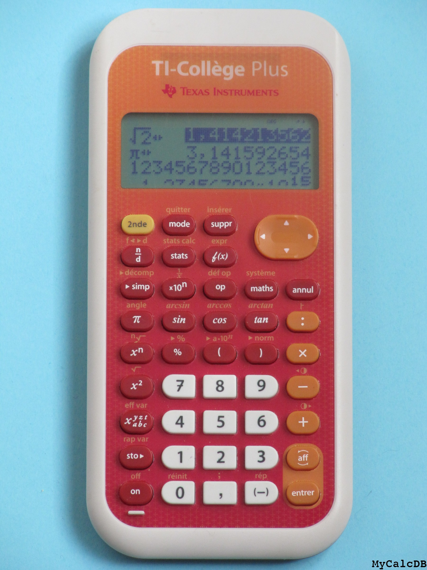 Texas Instruments TI-Coll�ge Plus