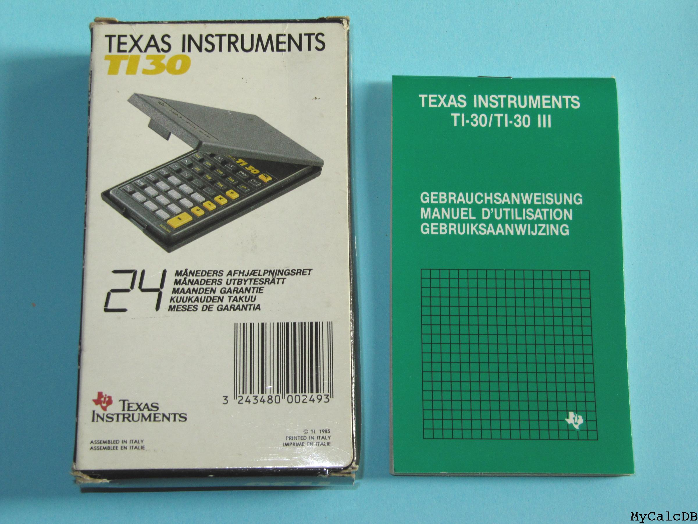Texas Instruments TI 30