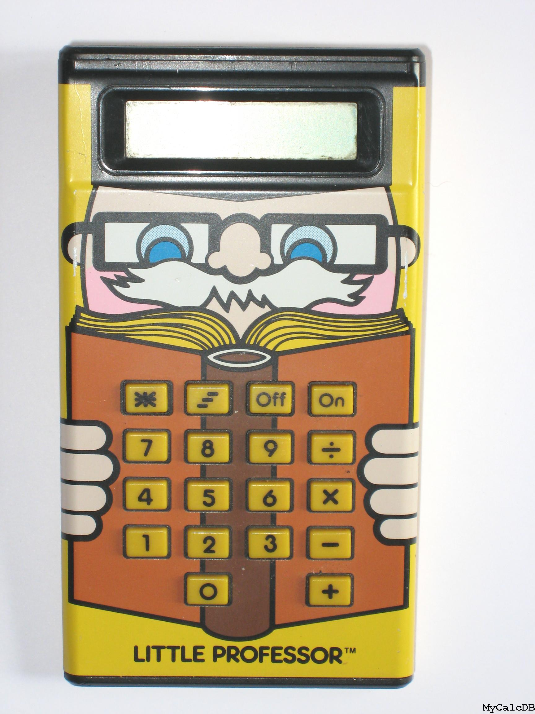 Texas Instruments LITTLE PROFESSOR