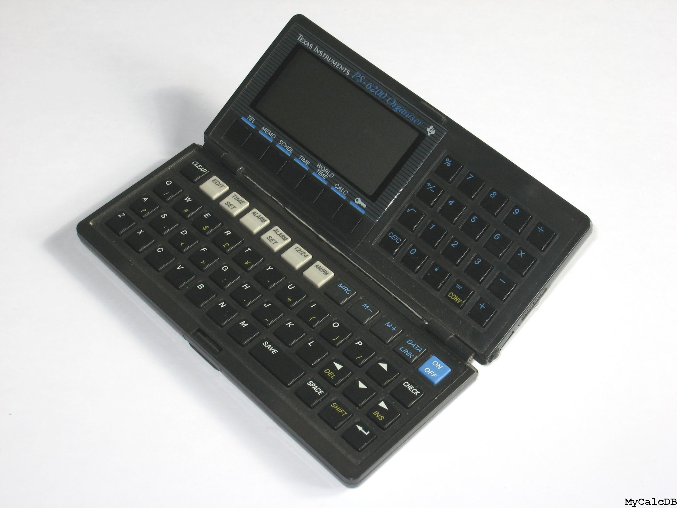 Texas Instruments PS-6200 Organiser