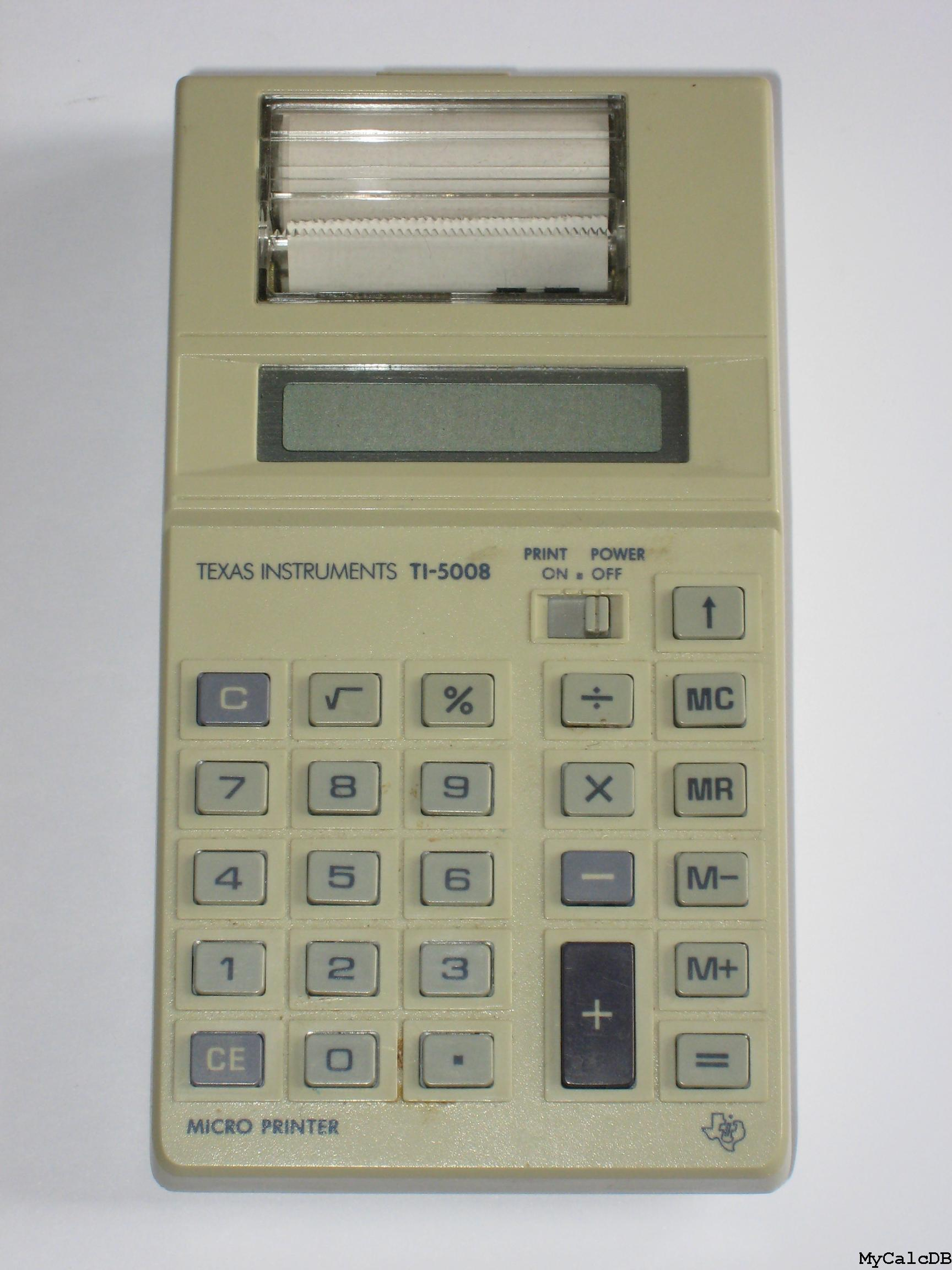 Texas Instruments TI-5008