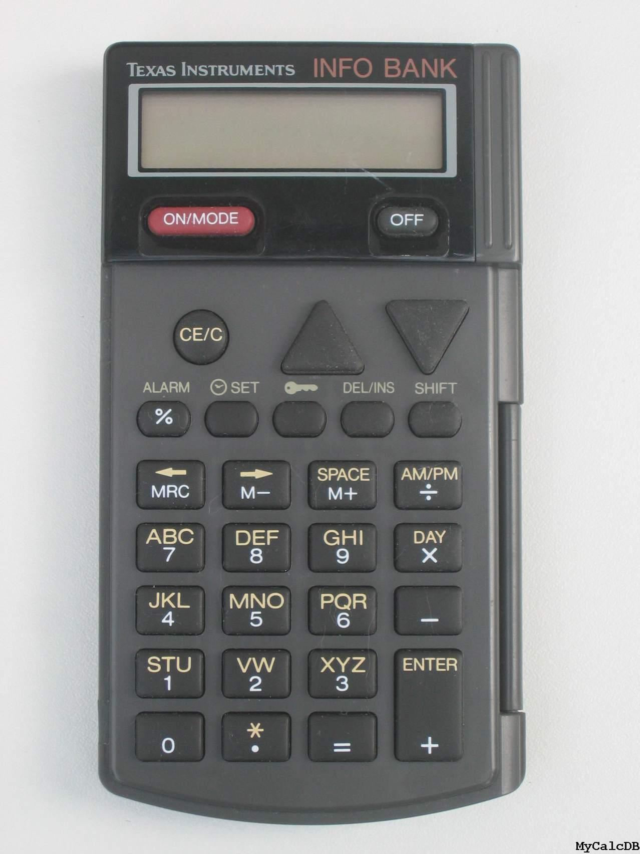 Texas Instruments INFO BANK