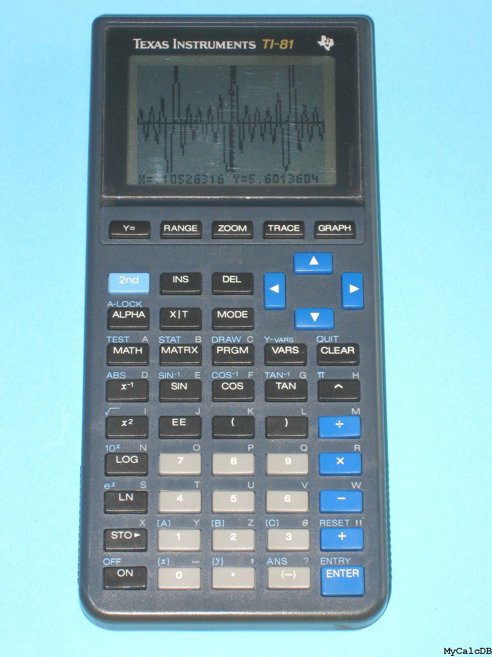 Texas Instruments TI-81