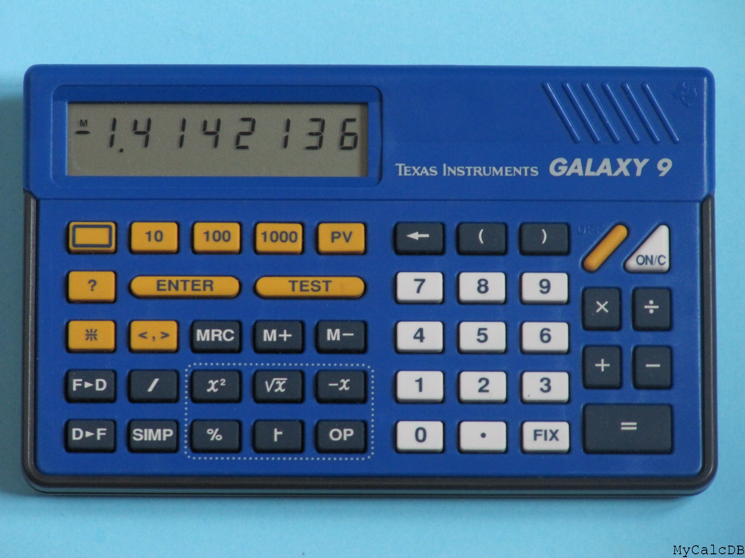 Texas Instruments GALAXY 9