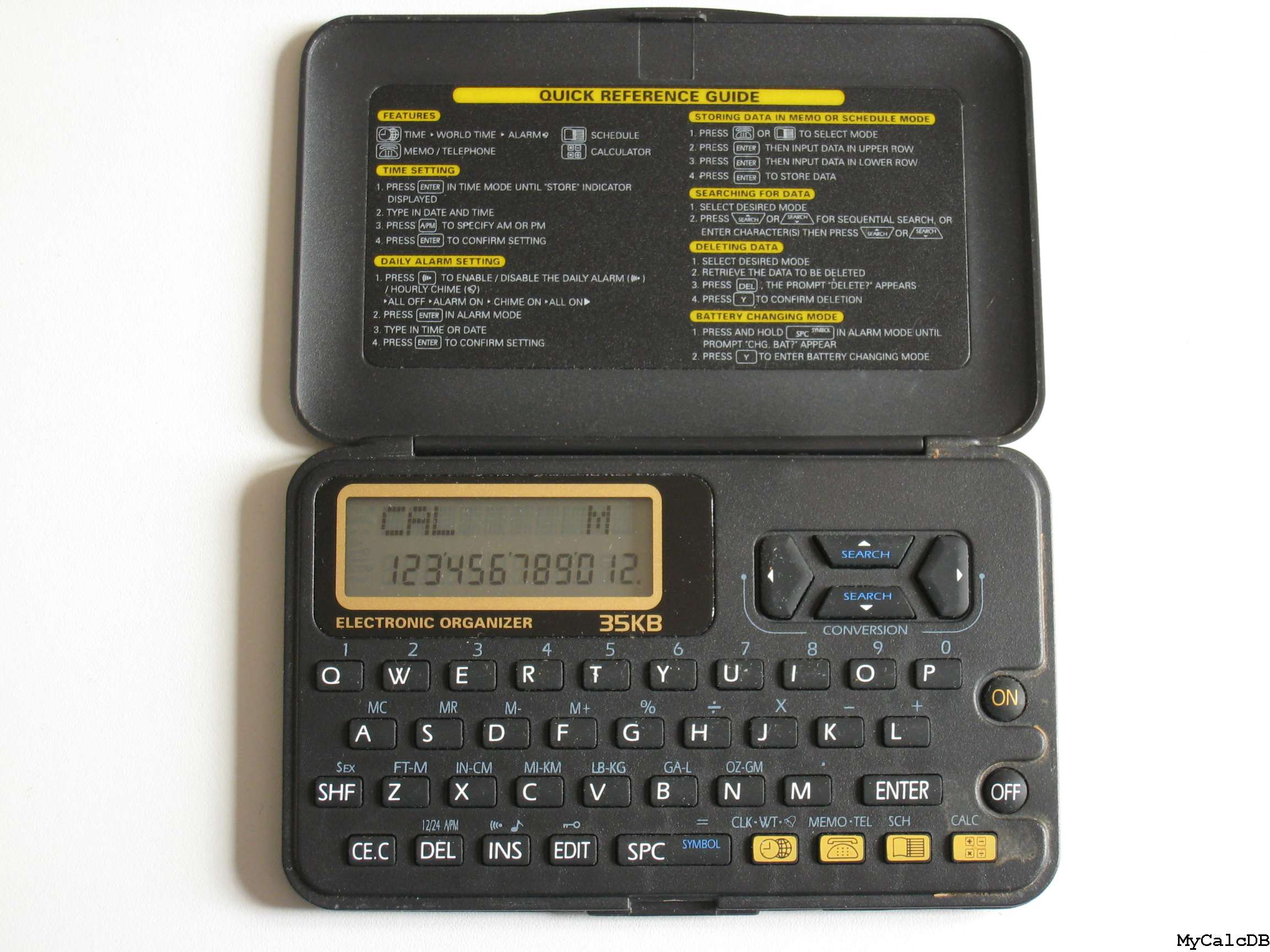 No Brand name ELECTRONIC ORGANIZER 35KB