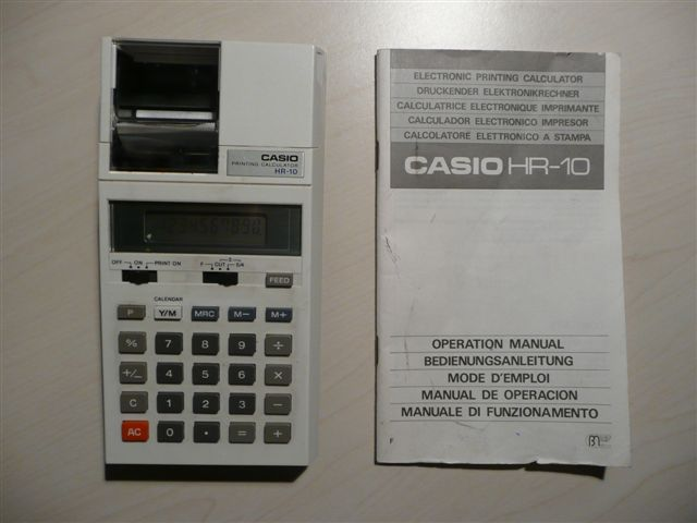 Casio HR-10