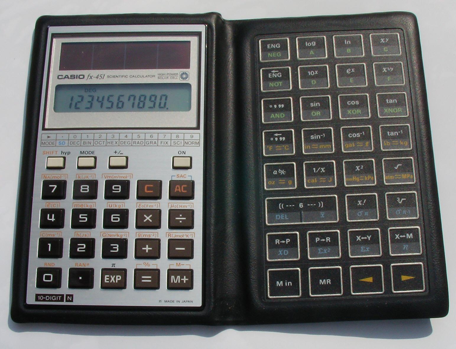 Casio fx451 owner's manual immediate download.