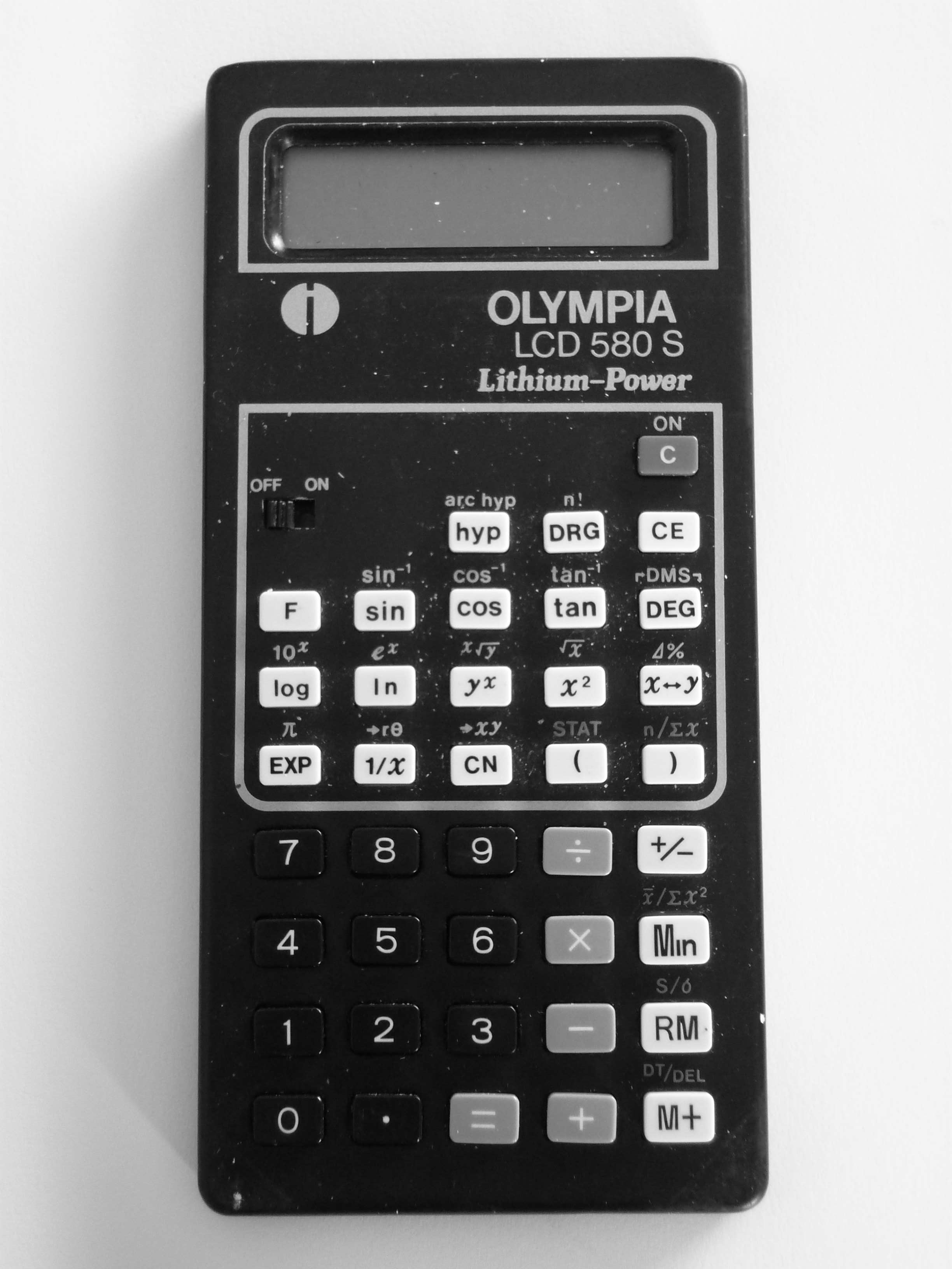 Olympia LCD 580S