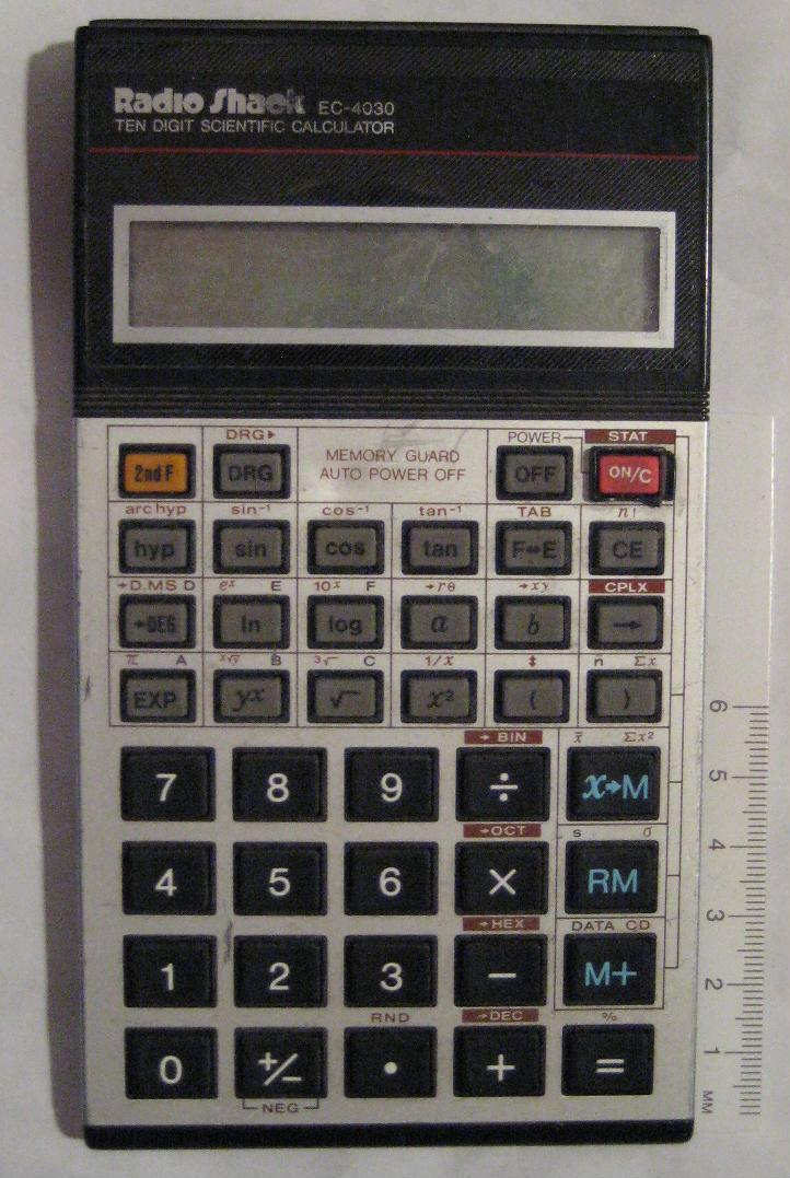 Radio Shack EC-4030